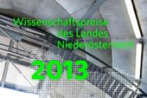 Wissenschaftspreise des Landes Niederösterreich 2013
