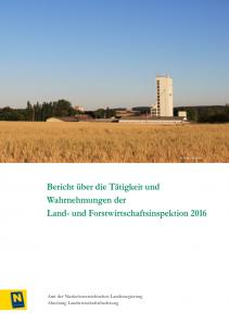 Tätigkeitsbericht der Land- und Forstwirtschaftsinspektion 2016
