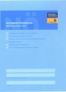 Wohnbauförderung Wohnzuschuss/Wohnbeihilfe Antragsmappe