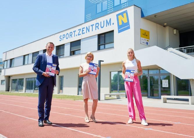 LH Mikl-Leitner/LR Danninger präsentierten Sportstrategie NÖ 2025