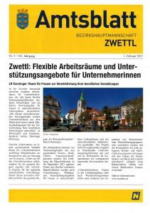 Amtsblatt BH Zwettl