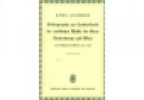 Karl LECHNER, Bibliographie zur Landeskunde der nördlichen Hälfte der Gaue Niederdonau und Wien : (von Nöchling bis Theben) 1920-1938