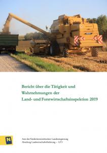 Tätigkeitsbereicht der Land- und Forstwirtschaftsinspektion 2019
