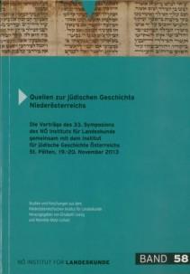 Elisabeth Loinig und Martha Keil (Hrsg.): Quellen zur jüdischen Geschichte Niederösterreichs