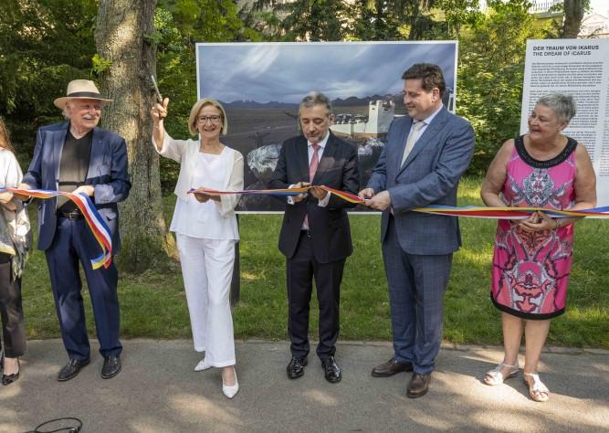 """Eröffnung von """"La Gacilly – Baden Photo 2021"""""""
