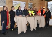 Pressekonferenz am Hochkar: Ab morgen sind Straße und Skigebiet wieder geöffnet.