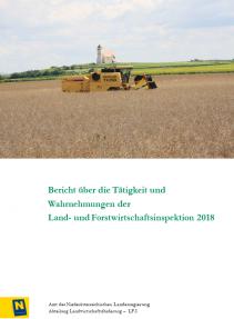 Tätigkeitsbereicht der Land- und Forstwirtschaftsinspektion 2018