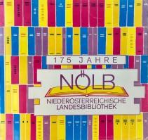 175 Jahre Niederösterreichische Landesbibliothek - Sonderausstellung im Foyer Broschüre
